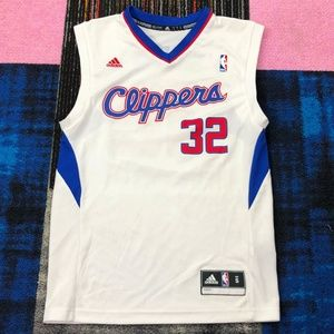 Adidas L.A. Clippers Boys Small Griffin 32 Jersey